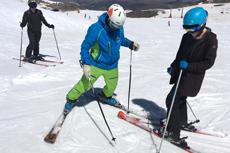 clase aprticular en ski and do